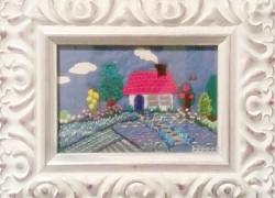 F・Uさん「お家の刺繍」